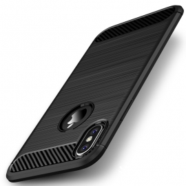 Capa Anti Choque Forcell Para Nokia 6 - Preto