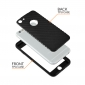 "Capa Full Cover em TPU/Gel ""Carbon"" Para iPhone 8"