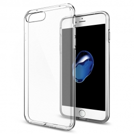 Capa de Gel Transparente Para iPhone 7 Plus - Transparente
