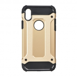 Capa Anti Choque Survival Para iPhone X - Dourado