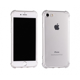 Capa Anti Choque 0,5mm Em Gel Transparente Para iPhone 6 Plus / 6S Plus - Transparente