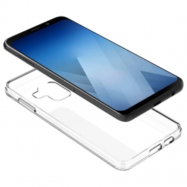 Capa de Gel Transparente Para Samsung Galaxy A6 Plus 2018