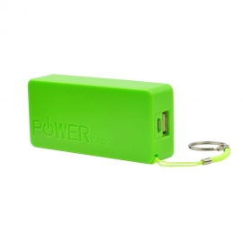 Mini Power Bank ST-508 de 5600mAh - Verde