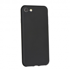 Capa de Gel TPU Colorida Para Nokia 7 Plus - Preto