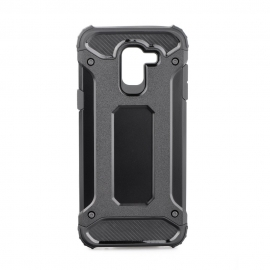 Capa Anti Choque Survival Para Samsung Galaxy J6 (2018) - Preto