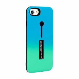 Capa Anti Choque Vennus Stand Case Para iPhone 6 Plus / 6S Plus - Azul / Verde