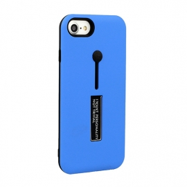 Capa Anti Choque Vennus Stand Case Para iPhone X - Azul Claro