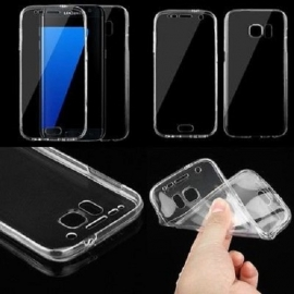 Capa Full Cover 360º Transparente em Gel / TPU Para Xiaomi Redmi Note 5A