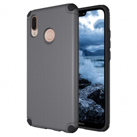 Capa Anti Choque Light Armor Para Huawei P20 Lite - Cinza