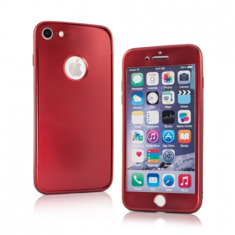 "Capa Full Cover em TPU/Gel ""Matte"" Para iPhone 5, 5S e SE"