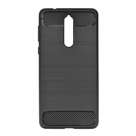 Capa Anti Choque Forcell Para Nokia 9 - Preto
