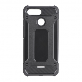Capa Anti Choque Survival Para Xiaomi Redmi 6 - Preto