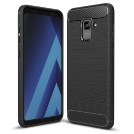 Capa Anti Choque Forcell Para Samsung Galaxy A8 2018 - Preto