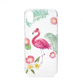 Capa de Gel Para iPhone 6 Plus / 6S Plus Flamingos