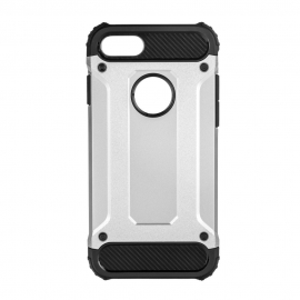 Capa Anti Choque Survival Para iPhone 8 - Prateado