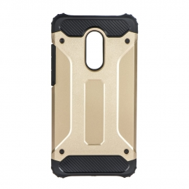 Capa Anti Choque Survival Para Xiaomi Redmi Note 4 / Note 4X - Dourado