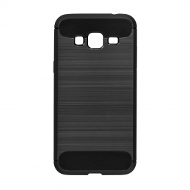Capa Anti Choque Forcell Para Samsung Galaxy J3 2016 - Preto
