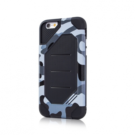 Capa Anti-Choque Defender Army Para iPhone 6 Plus / 6S Plus