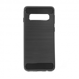 Capa Anti Choque Forcell Para Samsung Galaxy S10 Plus - Preto