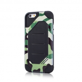 Capa Anti Choque Defender Army Para LG K10 2017 - Verde