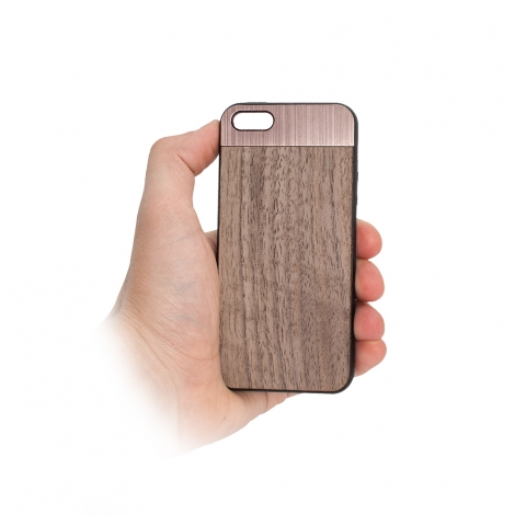 "Capa ""Wood"" Para iPhone 6 Plus / 6S Plus"