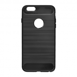 Capa Anti Choque Forcell Para Huawei Y6 2017 - Preto