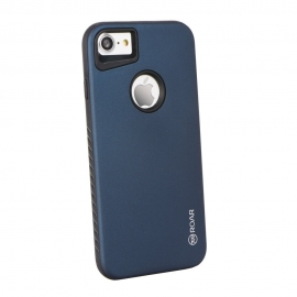 "Capa Anti Choque ""Roar Rico Armor"" Para iPhone 8 - Azul"