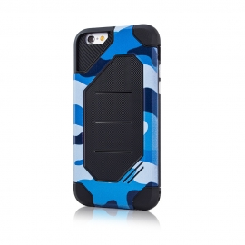Capa Anti Choque Defender Army Para iPhone 8 Plus - Azul