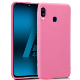 Capa de Gel Forcell Soft Para Samsung Galaxy A40 - Rosa