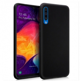 Capa de Gel Forcell Soft Para Samsung Galaxy A50 - Preto
