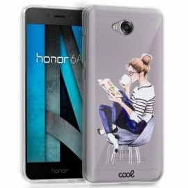 Capa Huawei Honor 6A Clear Girl