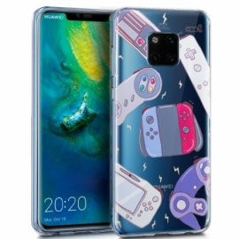 Capa Huawei Mate 20 Pro Clear Consolas