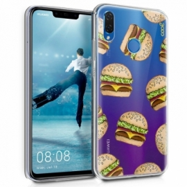 Capa Huawei P Smart Plus Clear Burger