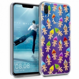 Capa Huawei P Smart Plus Clear Trolls