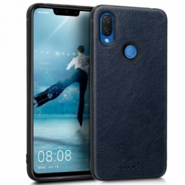 Capa Huawei P Smart Plus Leather Pele Marino