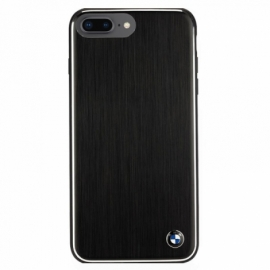 Capa iPhone 7 Plus / iPhone 8 Plus Licença BMW Metal Preto