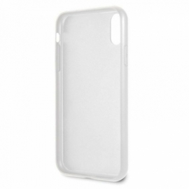 Capa iPhone XR Licença Guess Marmore Branco