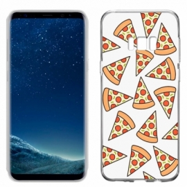 Capa Samsung G955 Galaxy S8 Plus Clear Pizza