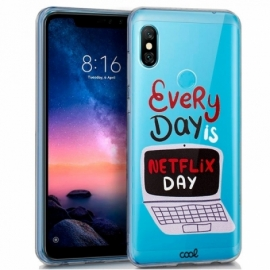Capa Xiaomi Redmi Note 6 Pro Clear Every Day