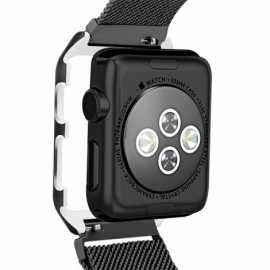 Correia Apple Watch Series 1 / 2 / 3 (42 mm) Metal + Capa Preto