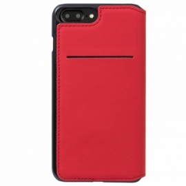 Bolsa Flip Cover iPhone 7 Plus / iPhone 8 Plus Licença Ferrari Vermelha