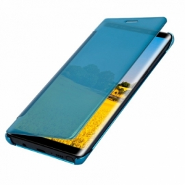 Bolsa Flip Cover Samsung N950 Galaxy Note 8 Clear View Azul