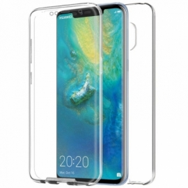 "Capa Bolsa Silicone 3D ""Cool"" 360º Huawei Mate 20 Pro (Transparente Frontal + Traseira)"