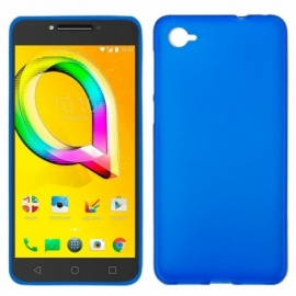 Capa Silicone Cool Alcatel A5 Led (Azul)