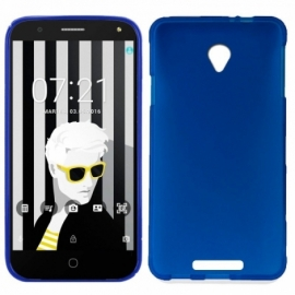 Capa Silicone Cool Alcatel Pop 4 (5) Azul