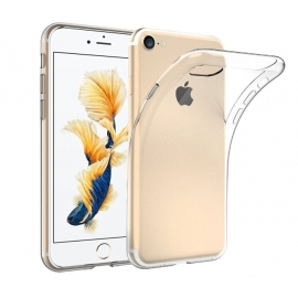 Capa de Gel Transparente Para iPhone 7 - Transparente