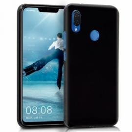 Capa Silicone Cool Huawei P Smart Plus (Preto)