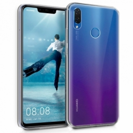 Capa Silicone Cool Huawei P Smart Plus (Transparente)