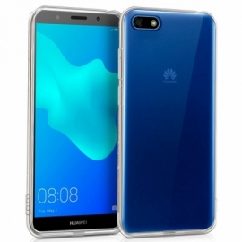 Capa Silicone Cool Huawei Y5 (2018) / Honor 7S (Transparente)