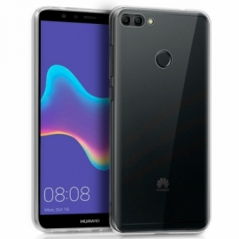 Capa Silicone Cool Huawei Y9 2018 Transparente